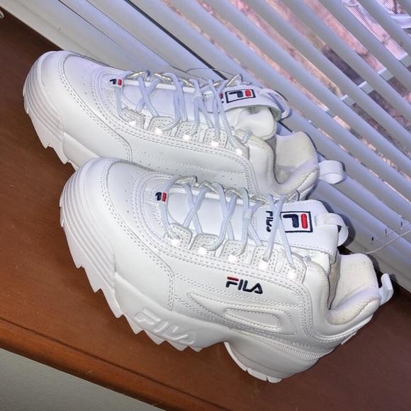 Women's Fila Disruptor II Premium Sneakers NWT